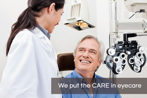 We put the care in Eyecare
